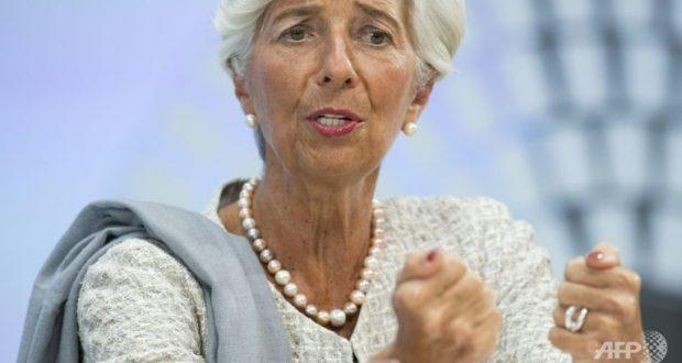 File photo of IMF chief Christine Lagarde. (Photo: AFP/Saul Loeb)