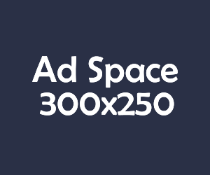 ad space 300x250