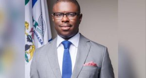 The Director-General of the Nigerian Maritime Administration and Safety Agency (NIMASA), Dr. Dakuku Peterside