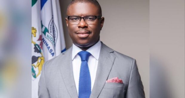 The Director General of the Nigerian Maritime Administration and Safety Agency (NIMASA), Dr. Dakuku Peterside